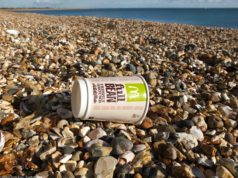 Coffee-cup-on-the-beach